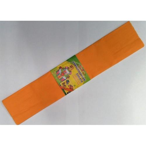 Бумага креповая 7742 (50*200см) ОРАНЖЕВЫЙ ( Апельсиновый) (10 уп)