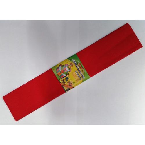 Бумага креповая 7737 (50*200см) КРАСНЫЙ (10 уп)