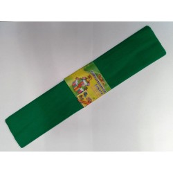 Бумага креповая 7736 (50*200см) ЗЕЛЕНЫЙ (10 уп)