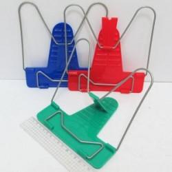 Подставка для книг пластм. IMG-2130 mix, пластик. регул. бл-25шт