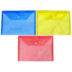 Папка-конверт А5 My CLEAR W209-18 (W205А) Ассорти цветов в упаковке