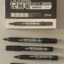 """Маркер """"Aihao""""  AH34500  (черный) 5 мм"""
