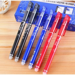 Ручка стираемая гель АН47200 (син) пишет-резинка стирает+от зажиг исчезает /12уп,144бл,1728ящ