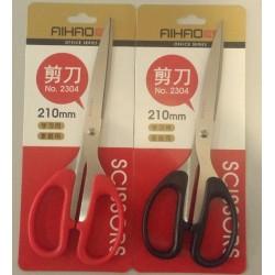 Ножницы Aihao 2304 ( черн, красн) 210мм