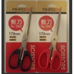 Ножницы Aihao 2305 ( черн, красн) 176мм