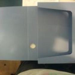 Папка А4 Aihao 2380 h35 мм пласт на липучке
