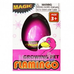 Игрушка-напухашка 8095 яйца фламинго 6 см (кажд. в индивид. уп.)