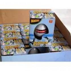 Игрушка-напухашка 8096 яйца пингвина 6 см (кажд. в индивид. уп.)