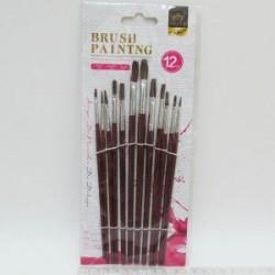 "Набор кистей IMG_2603 ""Painting brush"" 12 шт."