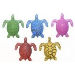 Игрушка-напухашка 8079 Черепахи с узором (30шт/уп)