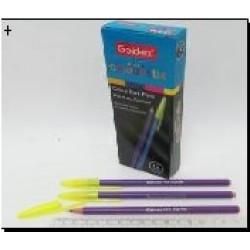 Ручка масл. №932 Goldex Colorstix (фиолет.) 1mm