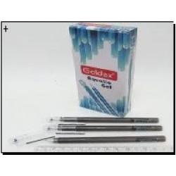 Ручка гель №881 Aquatic gel (черн.) 0,6mm