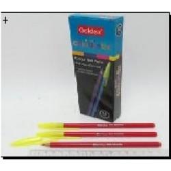 Ручка масл. №932 Goldex Colorstix (красн.) 1mm