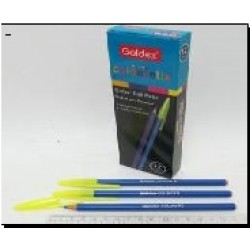 Ручка масл. №932 Goldex Colorstix (син.) 1mm