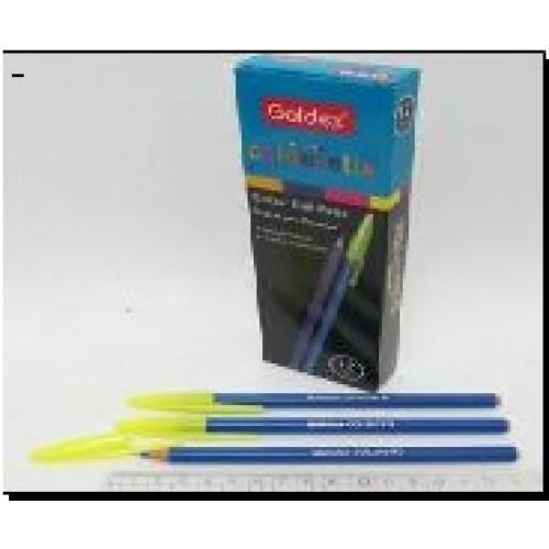 Ручка масл. №932 Goldex Colorstix (син.) 1mm
