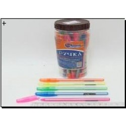 Ручка масл. № 612 Josef Otten D^Fine Pearl ( син.) в банке 0,6мм mix