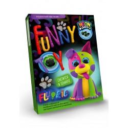 """Масса для лепки """"Air Clay """" Funny toy ARCL-FL-01-02 светится в темноте"""