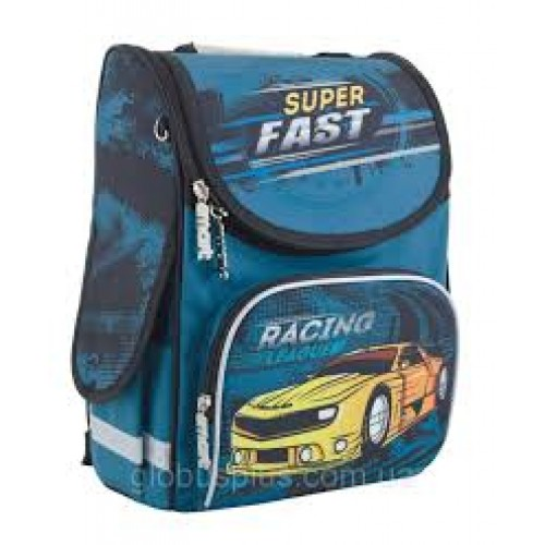 "Рюкзак каркасный 553415 Smart RG-11 ""Superfast"" 34*26*14"
