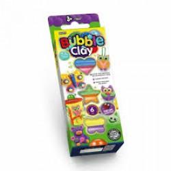 """Масса для лепки шариковая """"Bubble Clay 6 цветов"""" BBC-01 neon + магнит"""