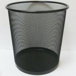 Корзина метал. офисная (27*24см) DSCN2089 серебро