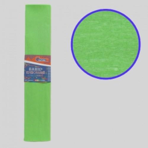 Бумага креповая 55% №KR55-8012 САЛАТОВЫЙ 50*200см, 20г/м2 (10 уп)
