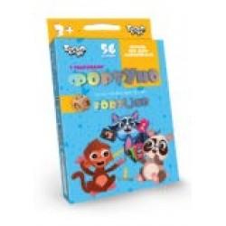 Игра настольная «Фортуно-Fortuno» 56 карт Uf-04 маленькая детская