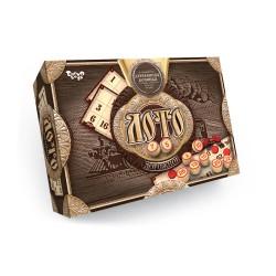 """Игра """"Дорожное лото"""" DTG-51 деревян. бочонки, в картонной коробке"""