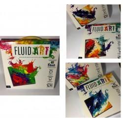 Картина своими руками Fluid Art FA-01 (холст,6цв.,акр.лак,перчатки) 31*31см