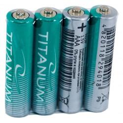 Батарейки солевые Titanum R03P/ААА 4psp SHRINK (микропальчик) GR