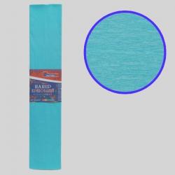 Бумага креповая 55% №KR55-8023 ГОЛУБОЙ СВЕТЛЫЙ 50*200см, 20г/м2 (10 уп)