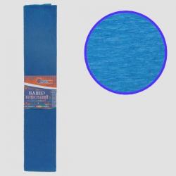 Бумага креповая 55% №KR55-8042 СИНИЙ 50*200см, 20г/м2 (10 уп)