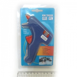 Пистолет для термо клея 0253/ПС-С (0,7см ) евро вилка
