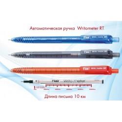 """Ручка шар. автомат """"Flair 1311 Sporty Writo meter"""" 10 км черная / 12уп,144бл"""