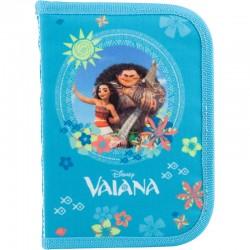"""Пенал Kite 1 отд. и 2 отвор. V18-622 """"Valana"""" внутри таблица умнож+расписание"""