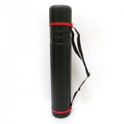 Тубус НТ-606А/7680  d=10cm h-65-110cm черный