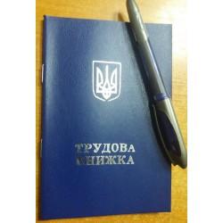 Трудовая книжка (синяя)