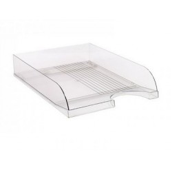 Лоток пластик для бумаги горизонталн №ЛГ-04 прозрачный