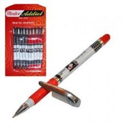 Ручка Cello (Montex) красная с пластиковым клипом