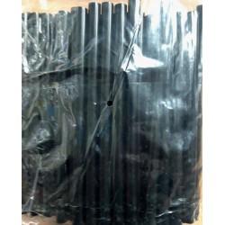 Клей сухой 1219 для термо пистолета, ЧЕРНЫЙ 0,7см 18см, 1кг