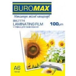 Пленка для ламинирования А4 №7724 Buromax 100мкн (100шт)