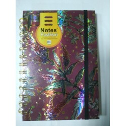 "Блокн. на спир  B-6 №UVSPB6-03 ""Notes fashion/ Spring"" 96л, клетка, крем.бум."