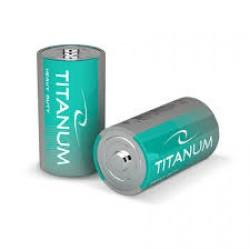 Батарейки солевые Titanum R20P/D 2psp SHRINK BK