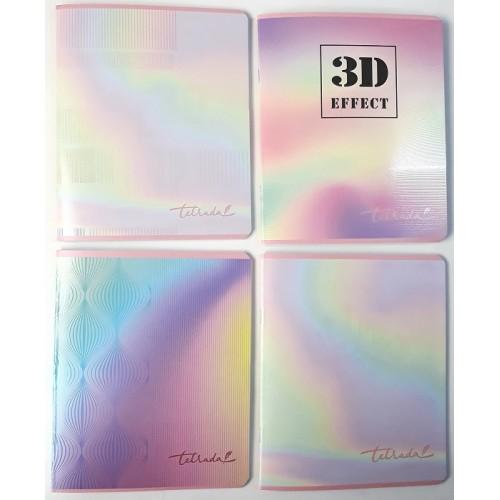"""Тетрадь 48 клетка """"Тетрада"""" 3D 3D EFFECT, ТМ Фемілі Лайн"""