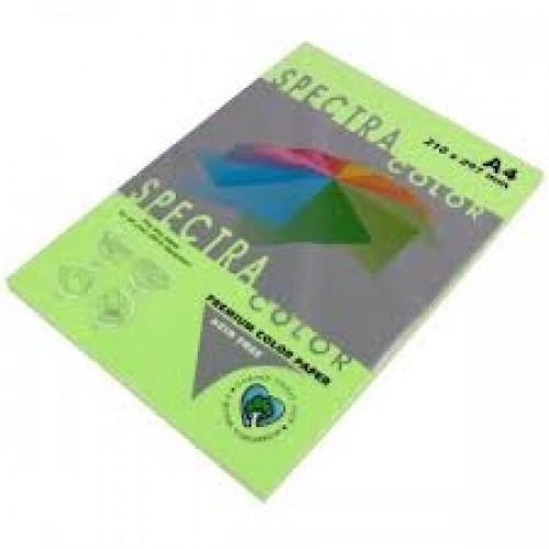 Бумага A4 Spectra НЕОН 100л/80гр №Neon GN-IQ ( GREEN ) Зеленый светлый