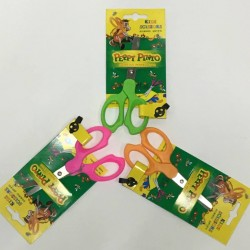 Ножницы  детск № 1007B  SF Peppy Pinto  (13.5cm) на блистере