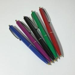 Ручка шар. авт. Schneider K-15   0.7mm синяя (корпус -красн/синий/черный/зеленый/сиреневый)