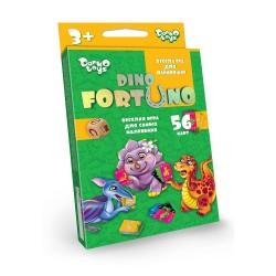 Игра настольная «Фортуно-Fortuno DINO» 56 карт Uf-05-01 маленькая детская