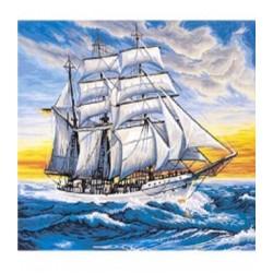 """Картина-раскраска по номерам на холсте 40*50  X1068 """"Spider"""" (н-р акрил.красок 22цв +3 кисти)"""