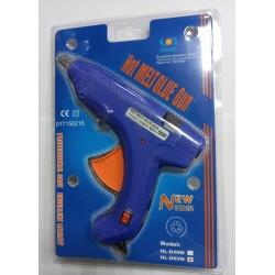 Пистолет для термо клея DSCN0255 (1.1см 60W) 110-240V  50/60Hz  c индикатором включения, с кнопкой