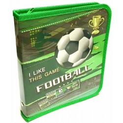"""Папка для тетр.B-5 на змейке (картон)  №14012 """"Goal"""" Kidis"""